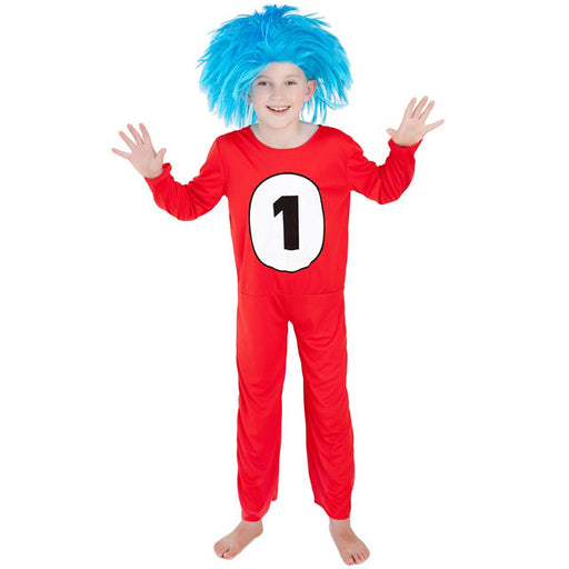 thing 1 costume, book week costume