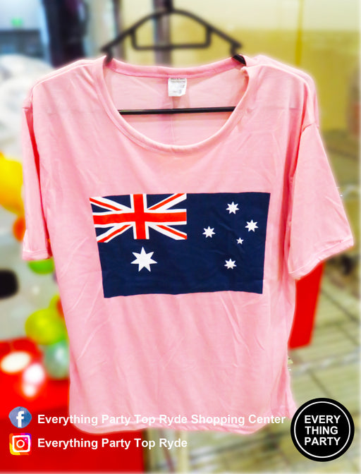 australia day flag women T-shirt