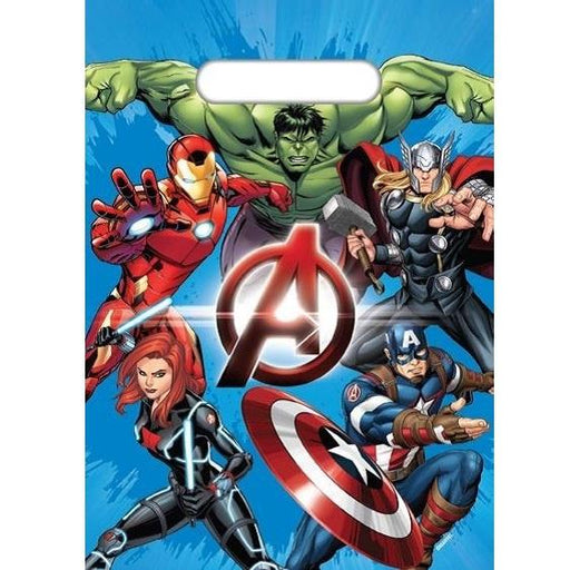 avengers lolly bags, avengers party bags, super hero party bags