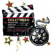 Hollywood Clapboard Balloon
