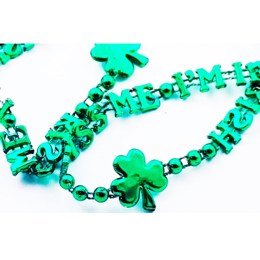 st patricks day necklace, shamrock necklace, Irish necklace