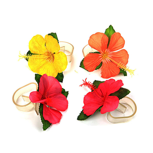hawaii party tablecloth clips