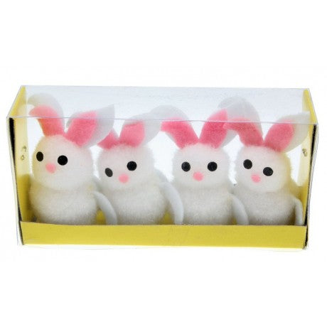 easter craft bunny, easter white bunny