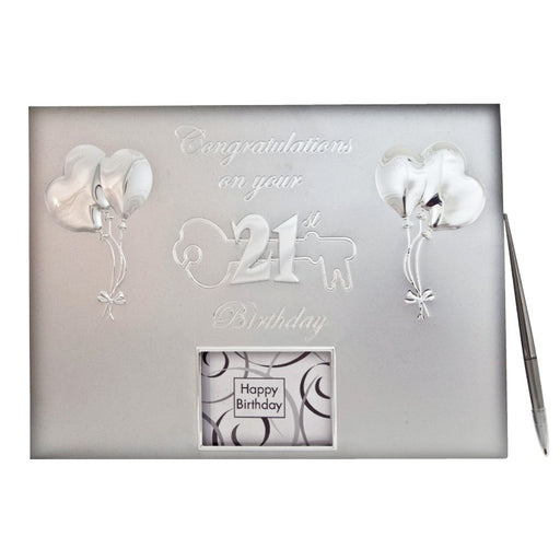 21st birthday guest book, birthday guest book