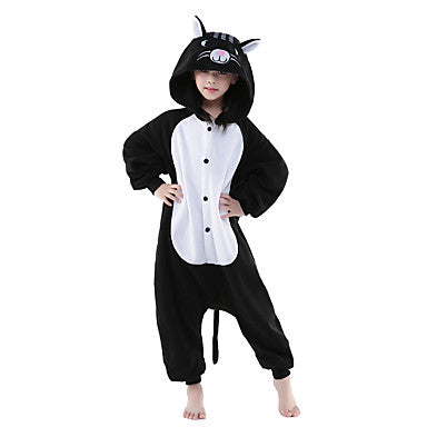 kids cat onesie, kids animal onesie