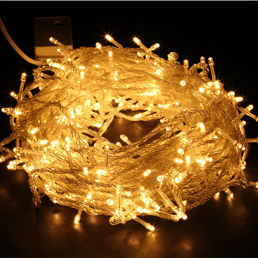 200 LED warm white Icicle String Lights