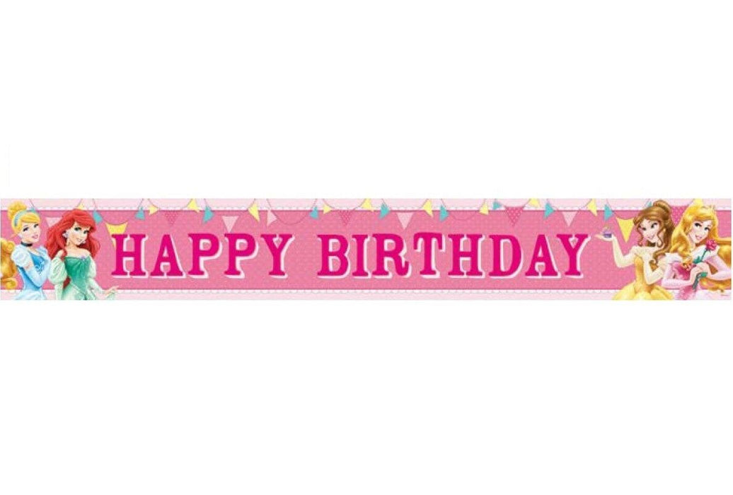 disney princess birthday banner