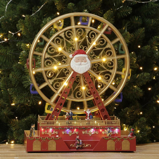 Christmas LED Musical Ferris Wheel with Rotating Function