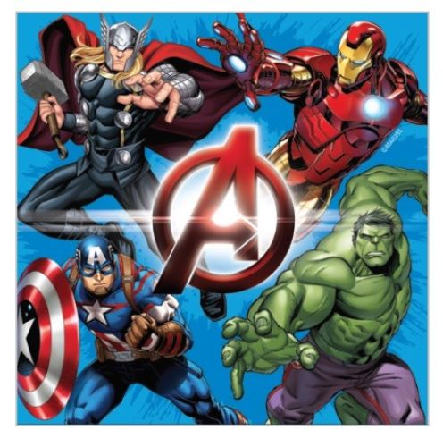 avengers party napkins