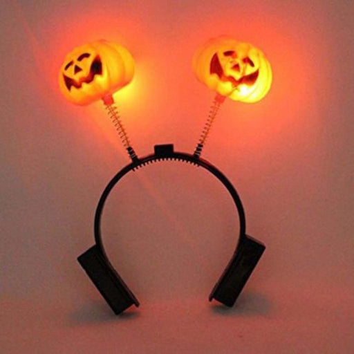 Light up pumpkin headband