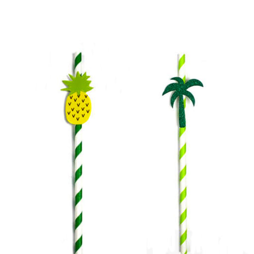 hawaii paper straws