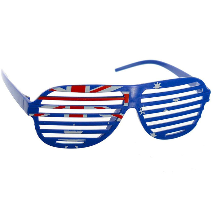 Australia day aussie party glasses