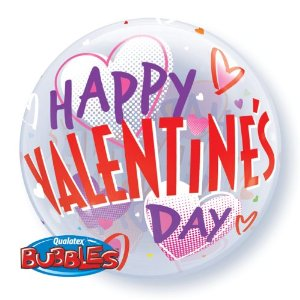 valentines day balloon, love heart balloon