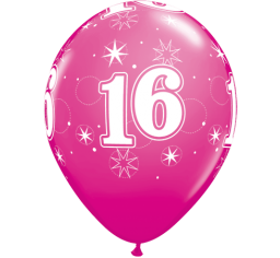 16th birthday balloon