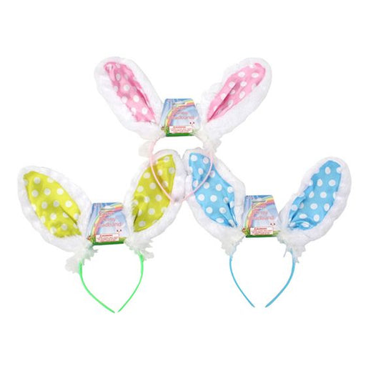 easter bunny headband, easter bunny ears headband, easter bunny tail