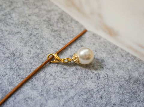 planner accessories pearl traveler's notebook charm