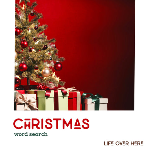 Christmas Word Search - Free Printable