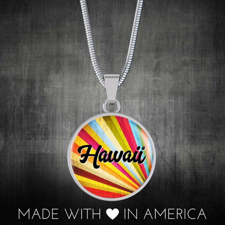 Retro Hawaiian Necklace