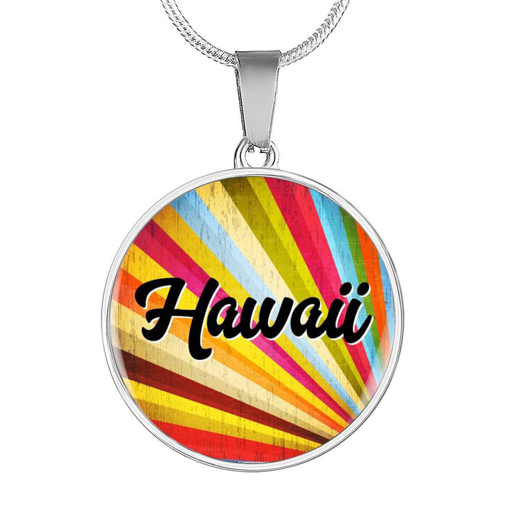 Retro Hawaiian Necklace Gift for Surfers