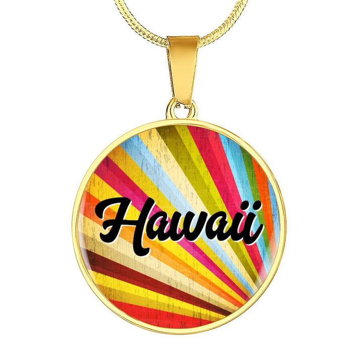 Colorful Hawaiian Necklace