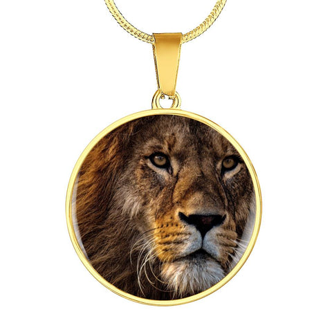 Personalized Lion Necklace