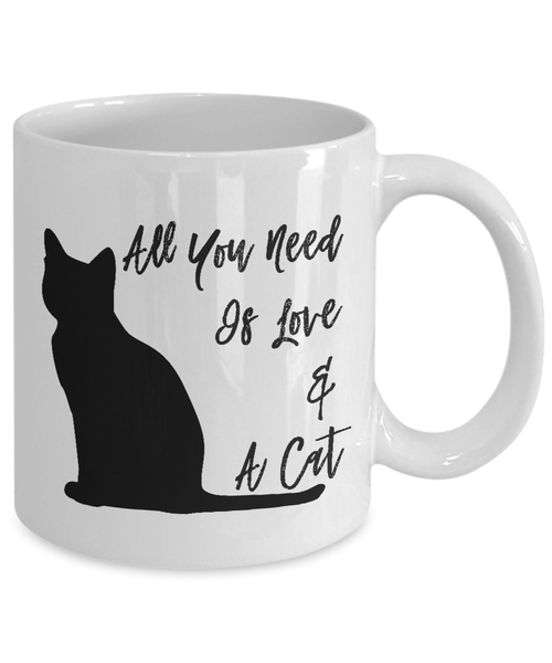 Cat Quote Coffee Mug