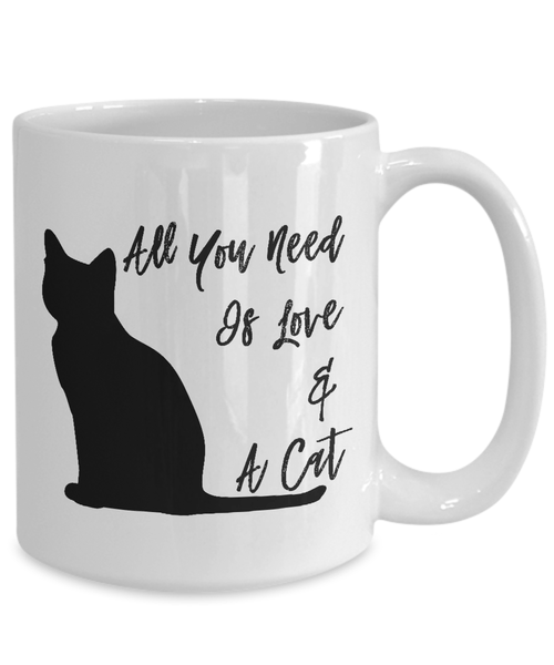 Coffee Mug With Cat