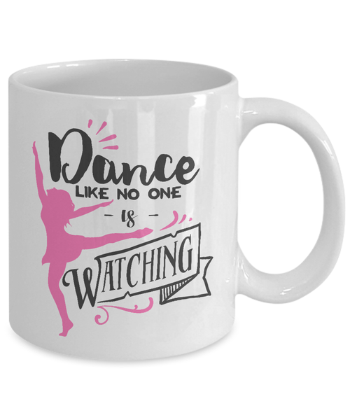 Inspirational Coffee Mug for Dancers