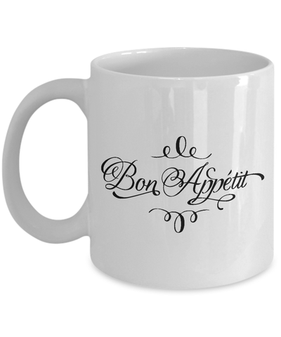 Foodie Gifts: Bon Appétit Coffee Mug