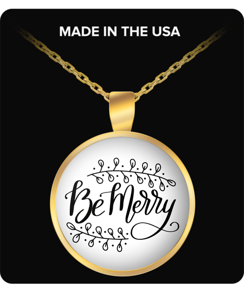 Be Merry Holiday Necklace for Women