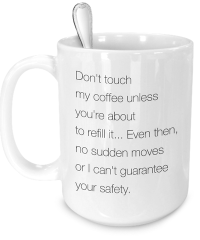 funny coffee mug for coffee lovers