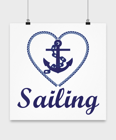 Sailing Art - Anchor Poster