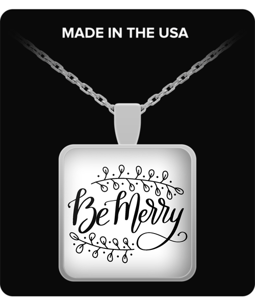 Be Merry Holiday Necklace