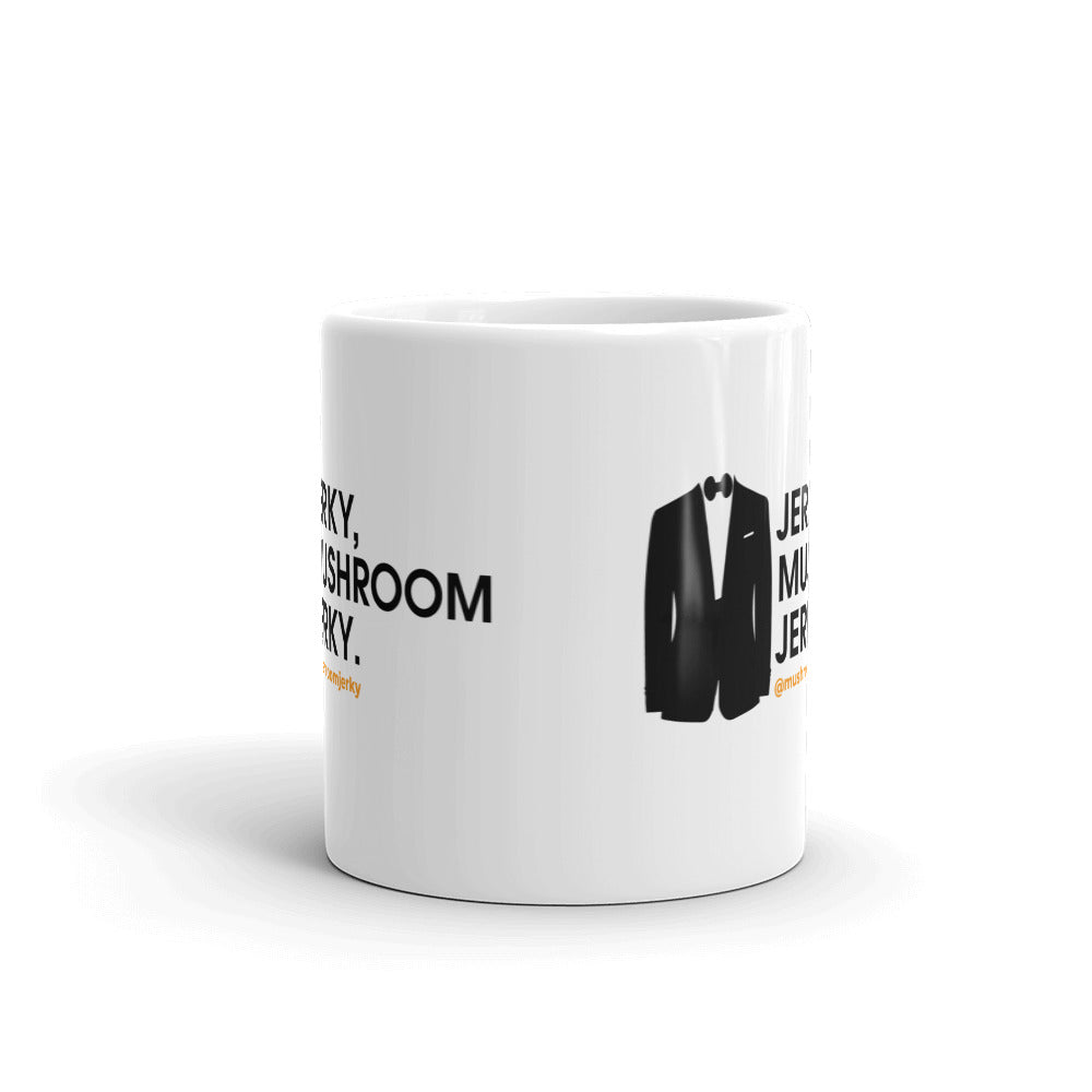 Pan's Mushroom Jerky James Bond Mug