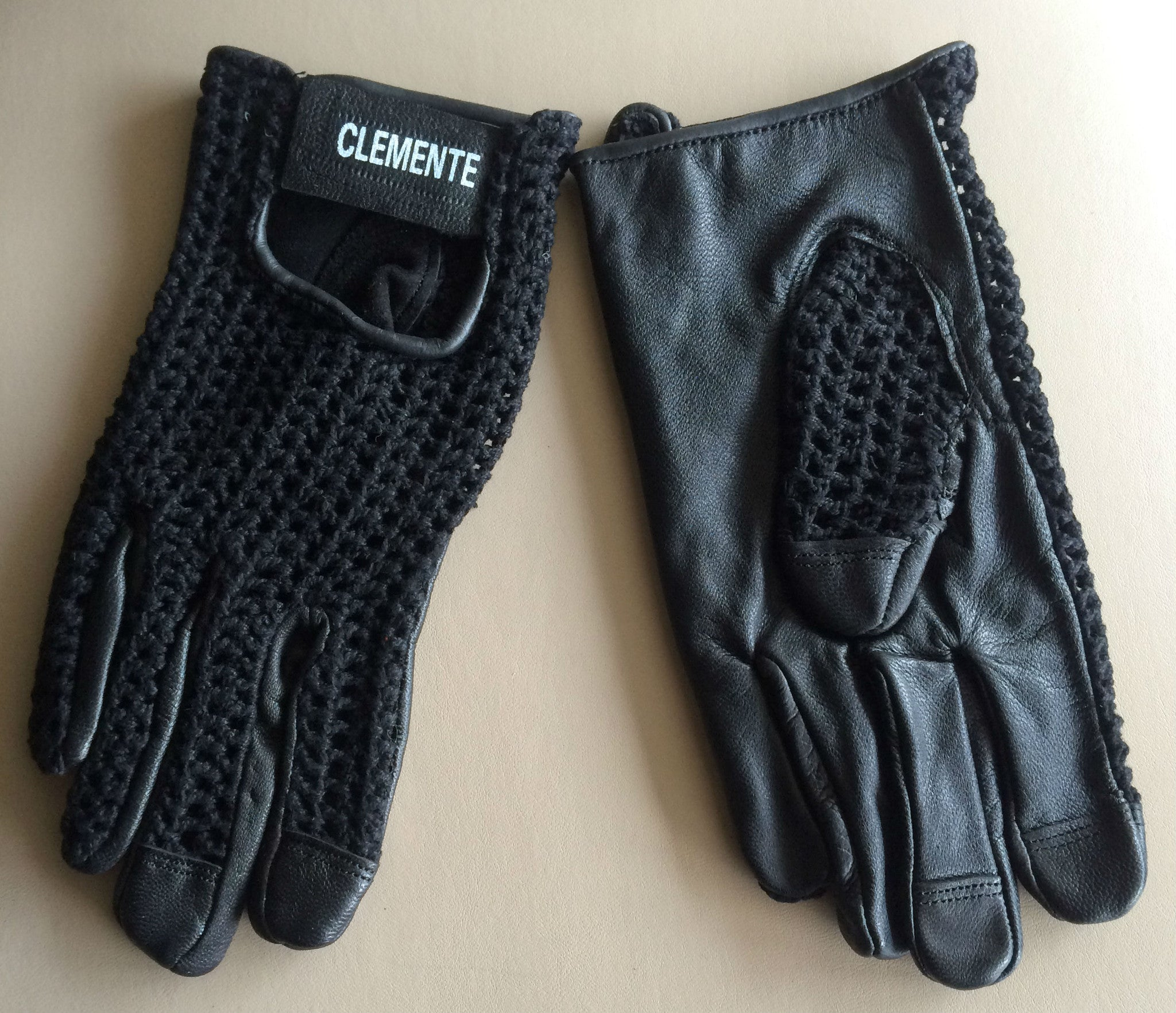 Full Finger Leather Track Glove