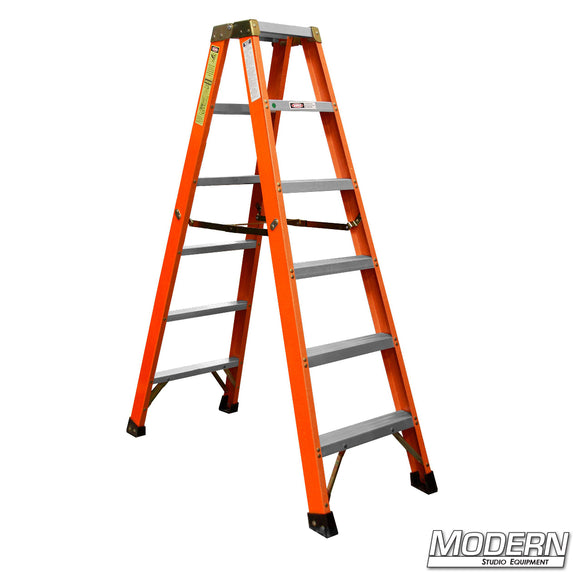6' DOUBLE SIDED STEP LADDER