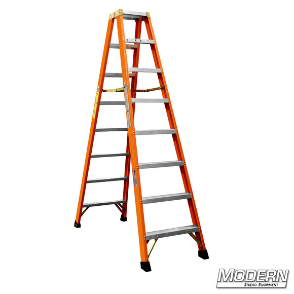 8' DOUBLE SIDED STEP LADDER