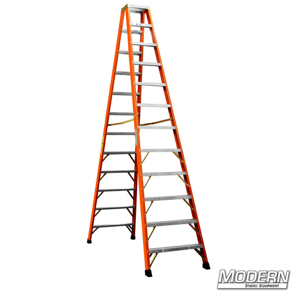 12' DOUBLE SIDED STEP LADDER