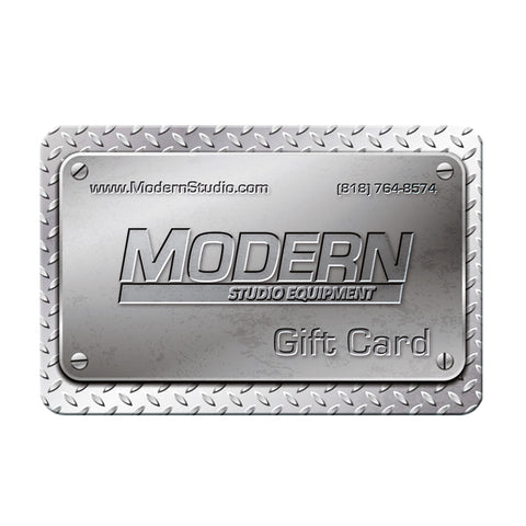 Modern Studio Equipment Gift Card