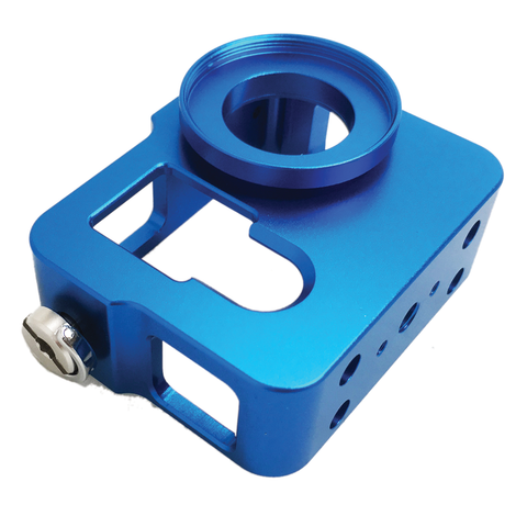 Camera Case | Hero 3 | Hero 3+ | Hero 4 | Aluminium Housing | Blue