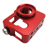Camera Case | Hero 3 | Hero 3+ | Hero 4 | Aluminium Housing | Red