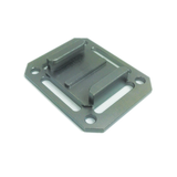 Camera Mount | CNC Aluminium Square Universal Buckle Mount | Charcoal