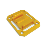 Camera Mount | CNC Aluminium Square Universal Buckle Mount | Gold