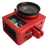 Camera Case | D4Kam | Aluminium Frame | Red