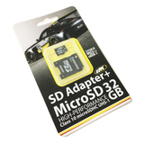 DK17 | 32GB Memory Card | Micro SD + SD Card Adapter