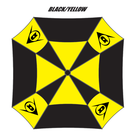 Dunlop DK17 | Flying D Umbrella | Black | Yellow