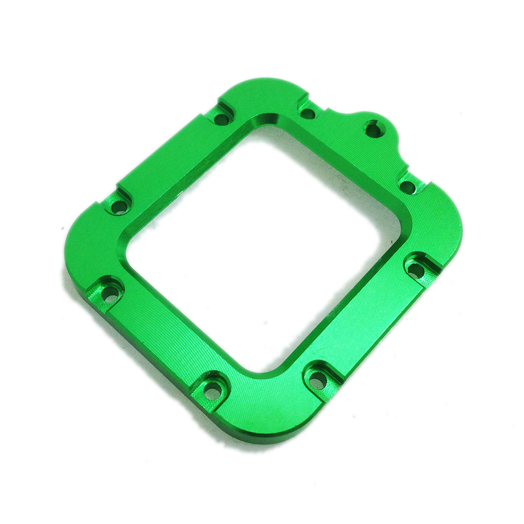 Camera Mount | CNC Aluminium | Hero3 | Lanyard Mount | Green
