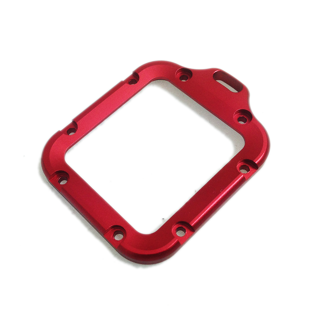Camera Mount | CNC Aluminium | Hero3 | Lanyard Mount | Red