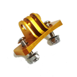 Camera Mount | CNC Aluminium Nassau Panel Mount | Gold
