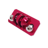 Camera Mount | CNC Aluminium Nassau Panel Mount | Red
